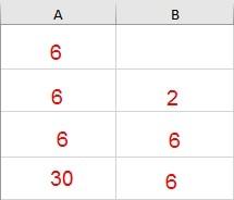 процессинговая таблица значения переменной 4 строка